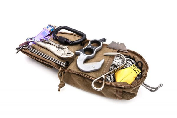Tactical Electronics Remote In-Extremis Pull Line Kit