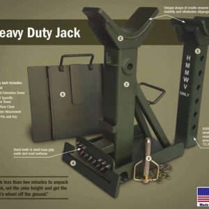 Tactical Global Solutions (TGS) Heavy Duty Tactical Jack